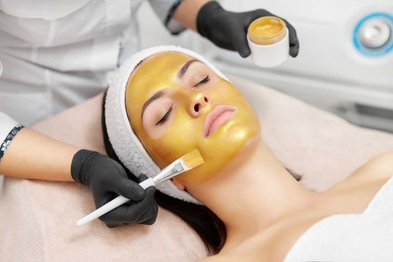 casmara gold mask facial